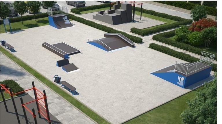 Строительство  скейт парка, фото 2