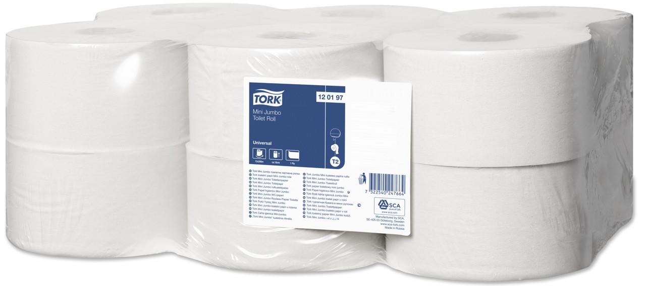 Tork туалетная бумага в мини-рулонах