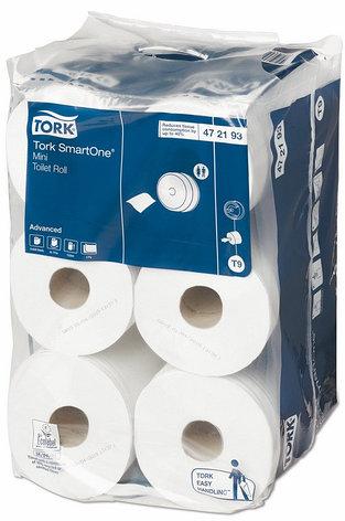Tork SmartOne® туалетная бумага в мини-рулонах, фото 2