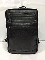 Городской рюкзак из экокожи. Высота 40 см, длина 26 см, ширина 14 см., фото 1