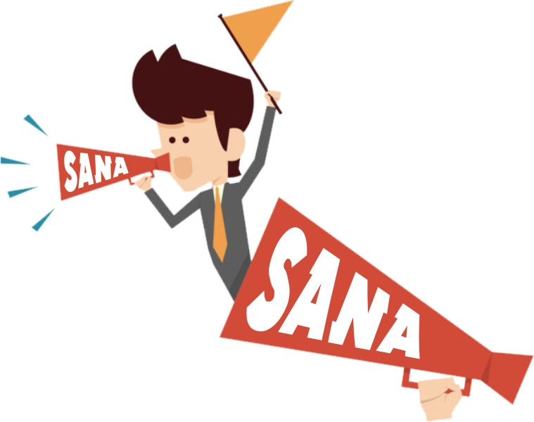 Объявление на «Радио SANA» в г. Рудный