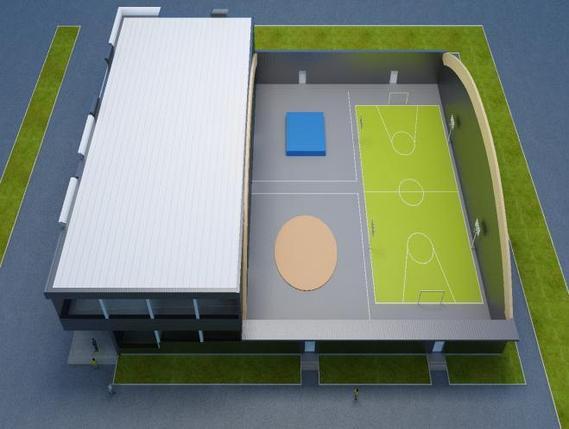Строительство футбольного поля, фото 2