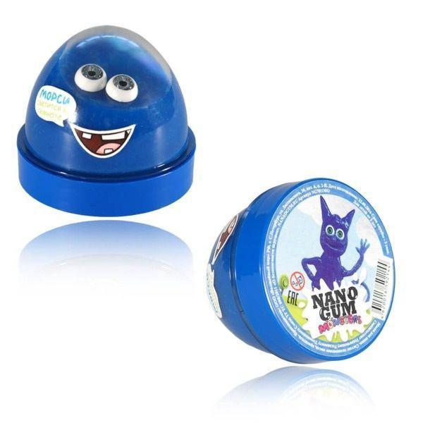 Жвачка для рук Nano gum  Светится в темноте 'Морси' 50 гр