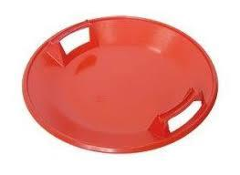 Ледянка тарелка красная