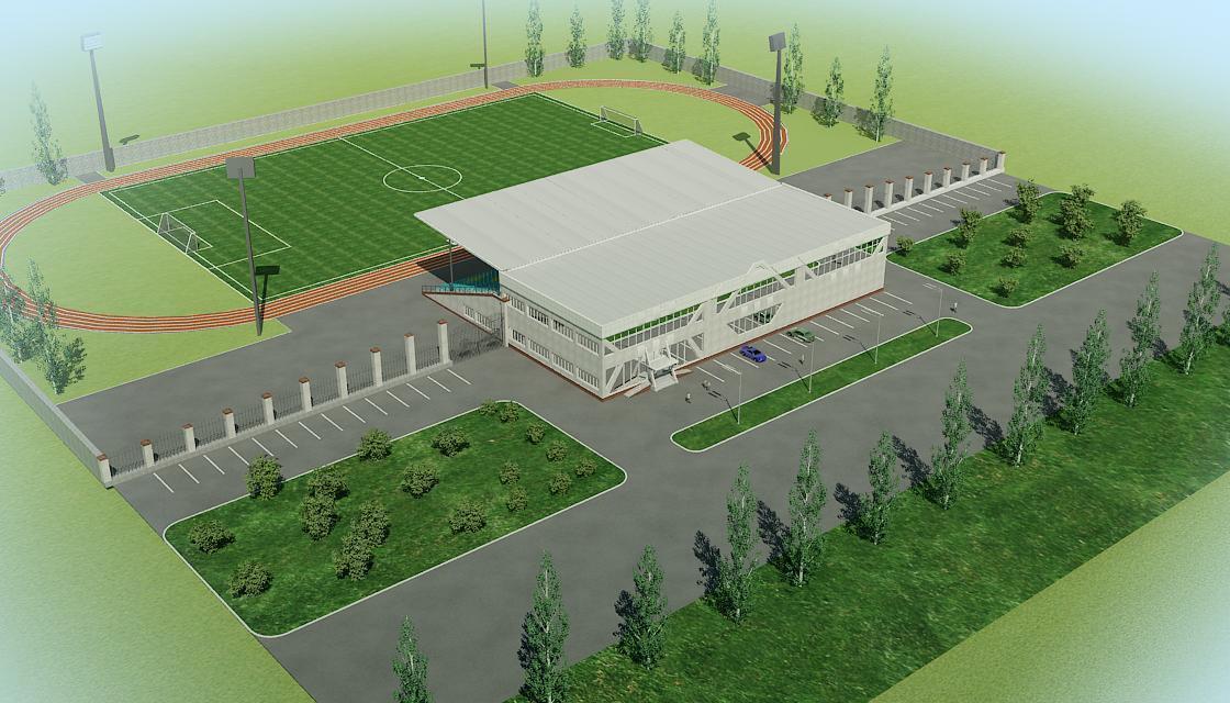 Проектирование футбольных стадионов