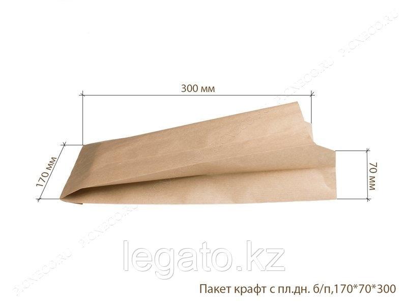 Пакет крафт 300*170*70