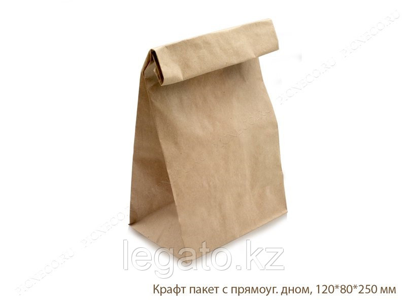Пакет крафт 250*120*80