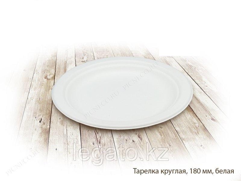 Тарелка бумажная круглая д-188мм