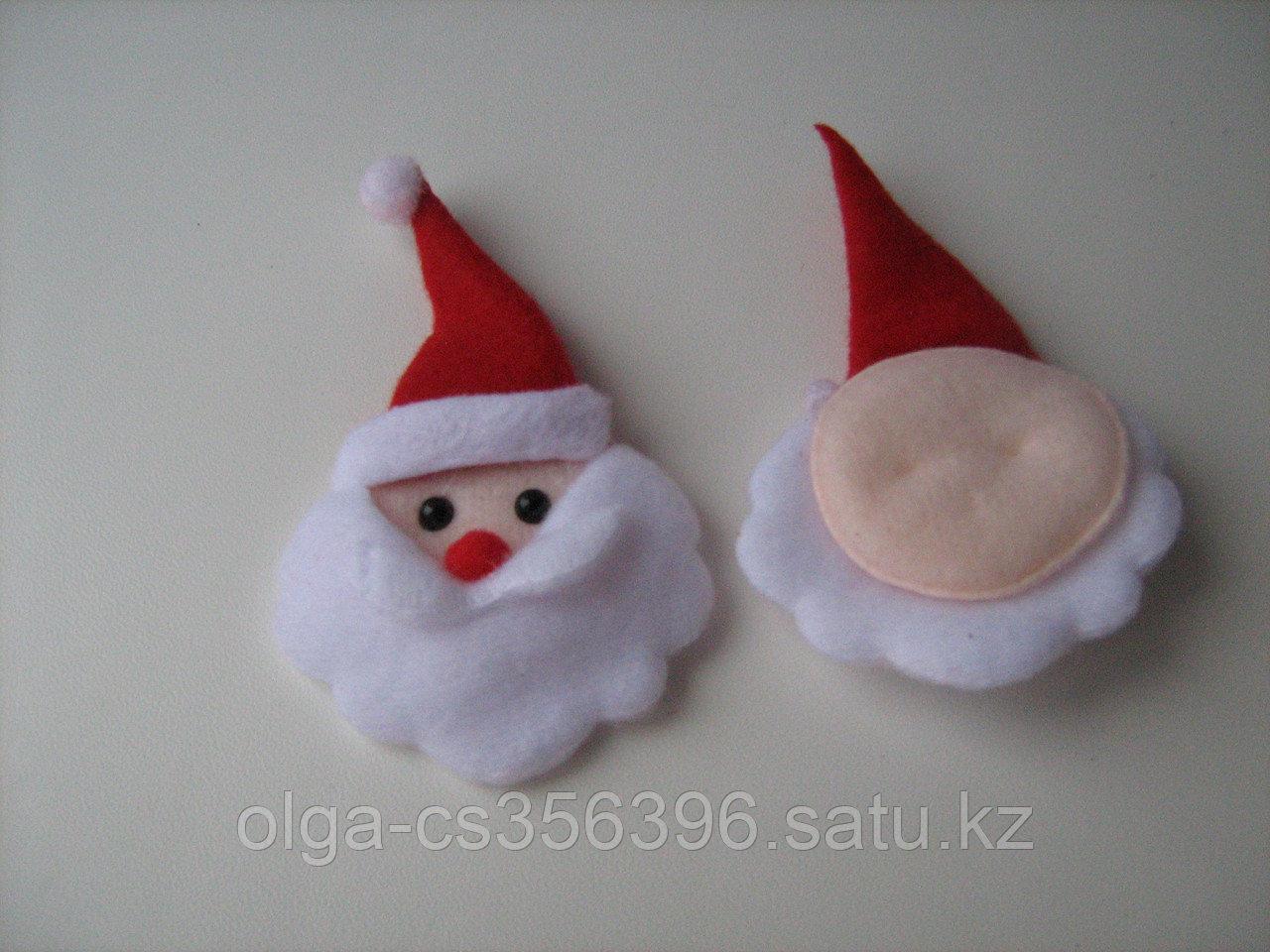 Дед морозы фетровые. 5 см.. Creativ  2373