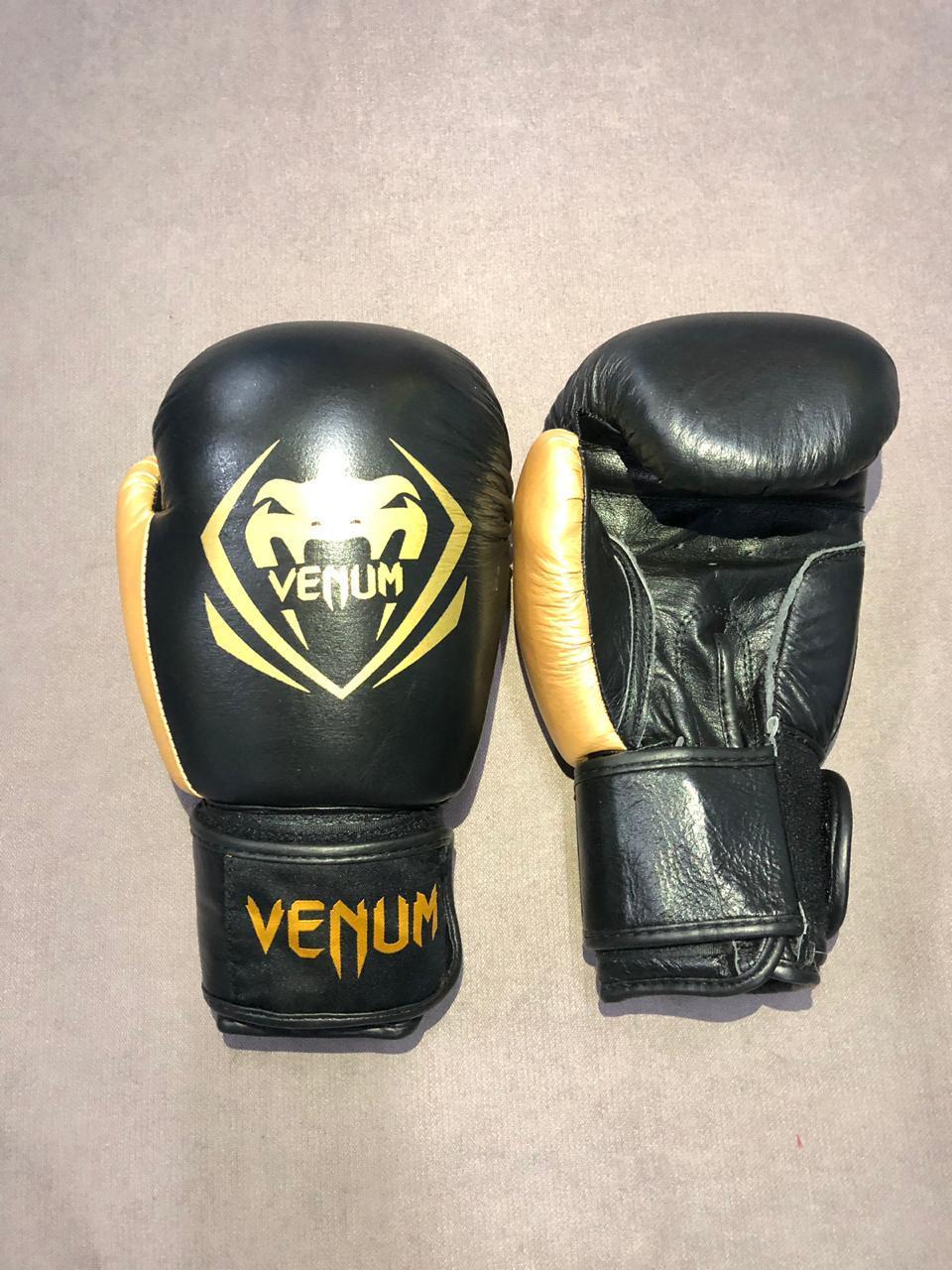 Боксерские перчатки Venum Contender - Black