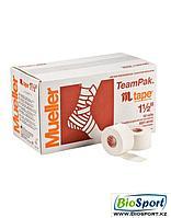 Спортивный тейп MUELLER Mtape 3,8см-13,72м, 100% хлопок\оксид цинка, 130105