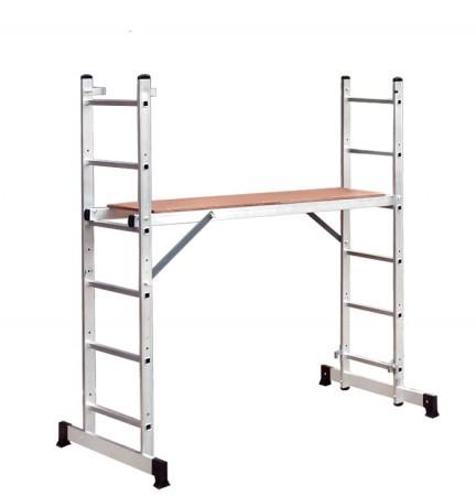 Алюминиевая лестница помост 3 В 1
