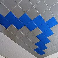 Кассетные потолки со скрытой подвесной системой