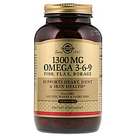 Омега 3-6-9. 1300 мг. 120 капсул