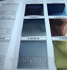 Зеркальная (солнцезащитная) пленка для стекол Silver 35