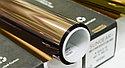 "Солнцезащитая зеркальная пленка ""бронза-серебро"" 15%, фото 2"