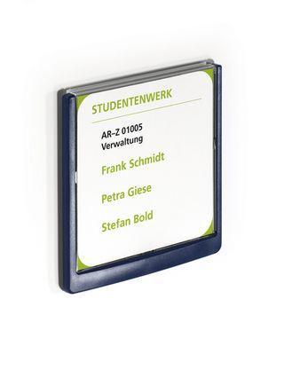 Настенная табличка Click Sign 149x148,5 мм Durable синяя