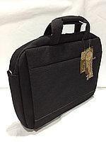 Тканевая сумка под ноутбук 15,6 дюймов.Высота 30 см, длина 39 см, ширина 7 см.