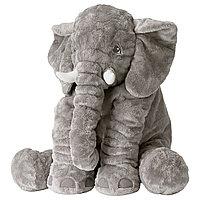 Игрушка мягкая слон ЙЭТТЕСТОР ИКЕА, IKEA
