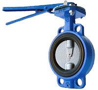 Затвор чугунный дисковой ЧАЗ Ру 16,Д.100 мм, фото 1