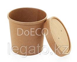 Упаковка ECO SOUP 12С  объем 340 мл.Крафт