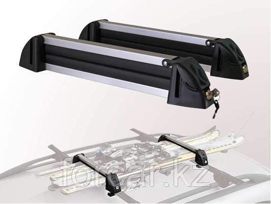 Багажник для лыж SkiLock-3 AMOS для перевозки 3 пар лыж или 2 сноубордов, фото 2