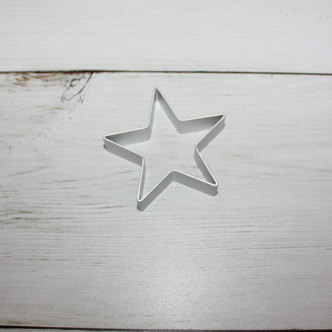 """Вырубка для печенья """"звезда"""""""