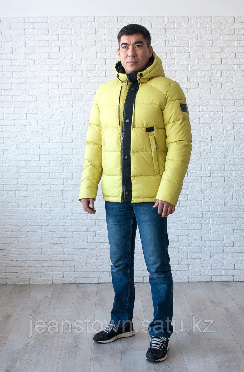 Куртка мужская зимняя Vivacana, желтая