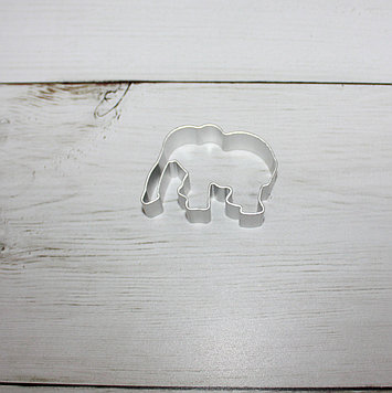 """Вырубка для печенья """"слон"""""""