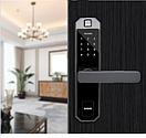 Биометрический электронный замок Fingerprint Lock, фото 3