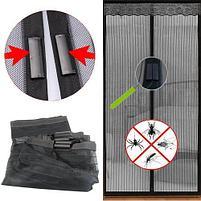 Защитная сетка-штора на двери на магнитах Magic Mesh (Меджик Меш), фото 3
