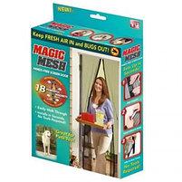 Защитная сетка-штора на двери на магнитах Magic Mesh (Меджик Меш), фото 5