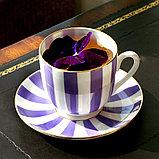 Кофейная пара Да и нет (Фиолетовый). Санкт-Петербург. Императорский фарфор, фото 7
