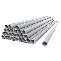 Хризотилцементная труба безнапорная Ду.400 мм 4м БНТ с хризотиловой муфтой без резинок