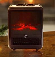 Электрокамин с эффектом живого огня Теплый дом