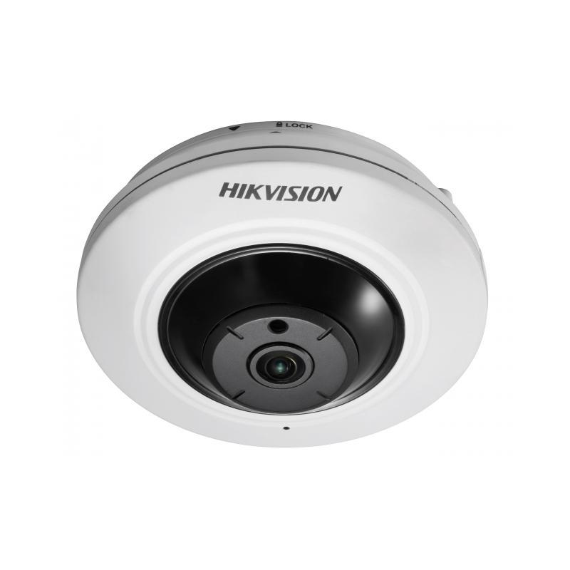 Hikvision DS-2CD2942F-IW  Сетевая  видеокамера Fish Eye,4 Мп