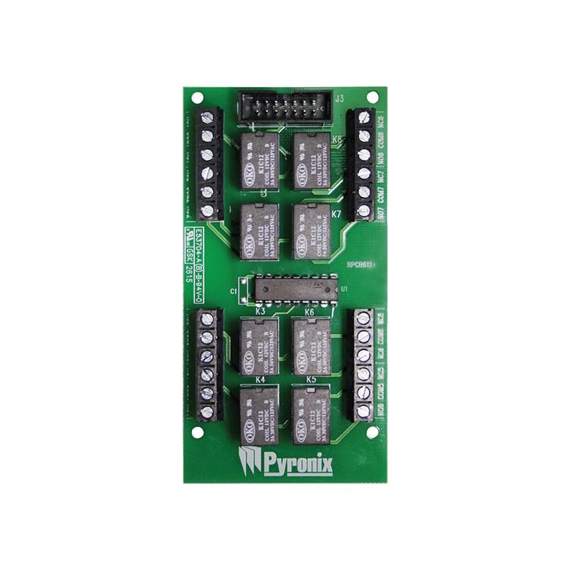 Pyronix PCX-ATE8R - Плата преобразования логических выходов PGM в сухие контакты