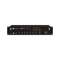 ITC TI-120BU Микширующий усилитель 120Вт, 100В, 4~16 Ом (3 микрофонных, 2 линейных входа) USB проигр