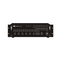 ITC TI-240S Микширующий усилитель, 5-ти зональный 240Вт (240В, 2 линейных/4 микрофонных входа, 5 уро