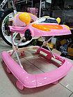 Детские ходунки Машинка. Качество, фото 6