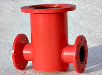 Подставка под пожарный гидрант проходная Ду 100