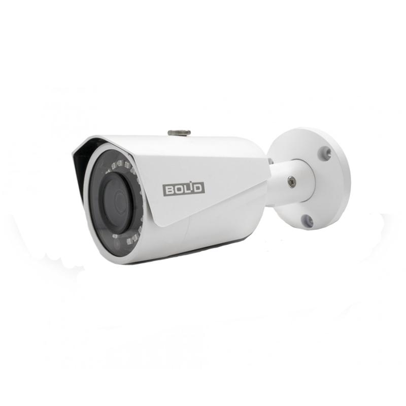 Bolid VCI-123 Цилиндрическая сетевая видеокамера, цветная, 2Мп, объектив 3,6мм