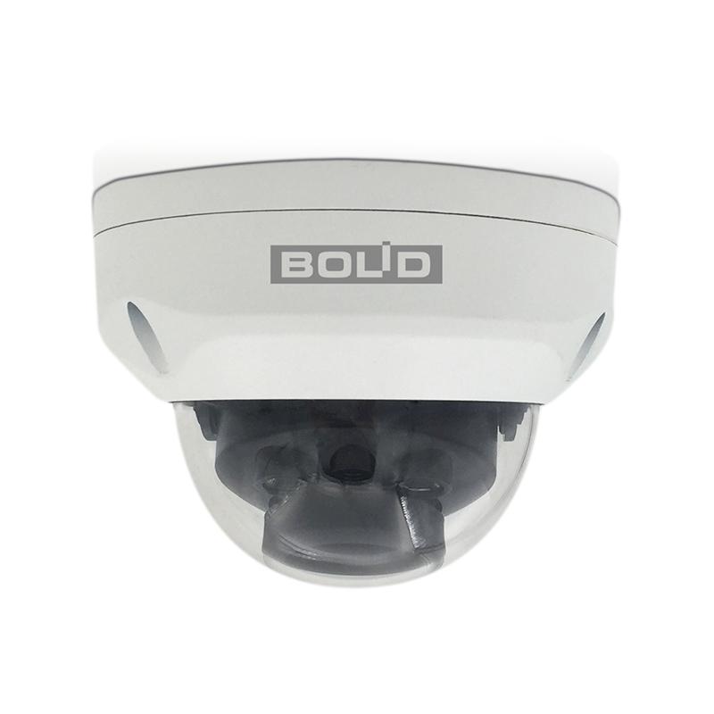 Bolid VCI-230 Купольная сетевая антивандальная видеокамера, цветная, 3Мп, объектив 2,7-12мм
