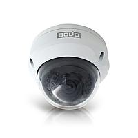 Bolid VCI-222 Купольная сетевая антивандальная видеокамера, цветная, 2Мп, объектив 2,8мм