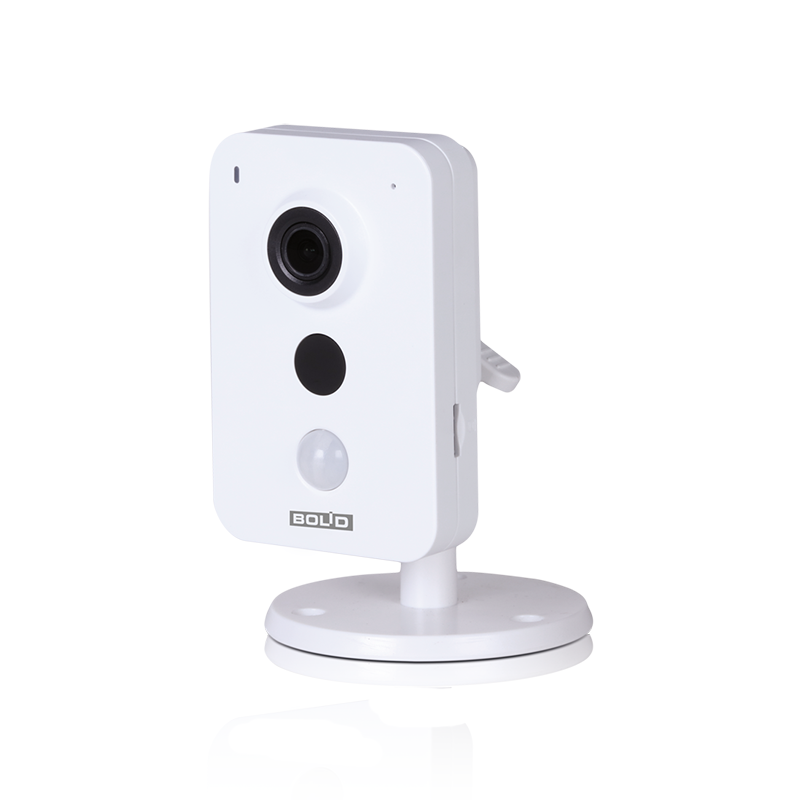 Bolid VCI-412 Кубическая сетевая видеокамера, цветная, 1,3Мп, объектив 2,8мм