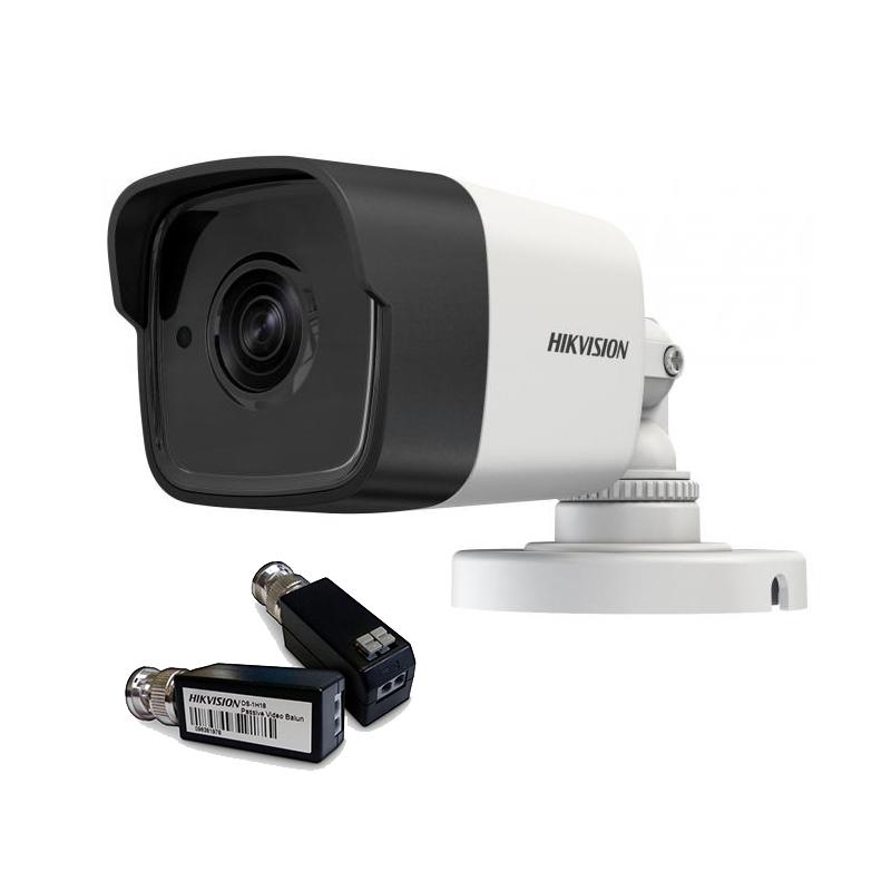 Hikvision DS-2CE16F7T-IT (3.6 мм) + DS-1H18 HD TVI 3МП EXIR уличная  видеокамера Комплект