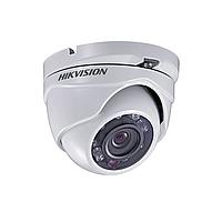 Hikvision DS-2CE56C2T-IRP (2.8 мм) HD TVI 720P купольная видеокамера, пластиковый корпус