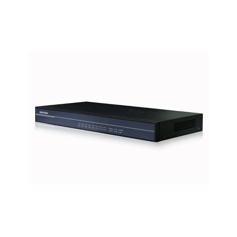 Hikvision DS-3A016T-M Передатчик по оптоволокну на 16 каналов, передача со скоростью 10-бит