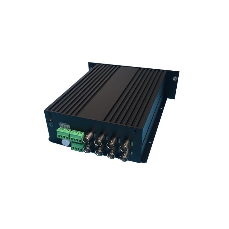Hikvision DS-3A18T-A Передатчик по оптоволокну на 8 каналов, передача со скоростью 10-бит