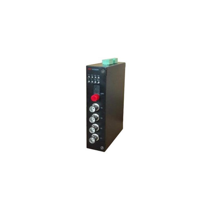 Hikvision DS-3V04R-AU/720 Приемник по оптоволокну на 4 канала